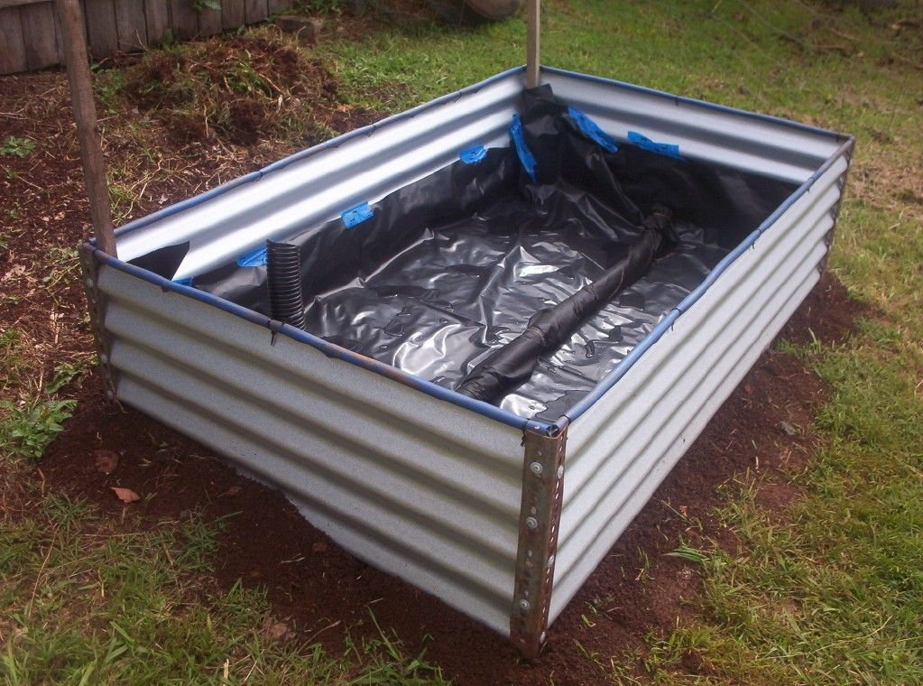 DIY Raised Garden Beds Forum DIY Colorbond Raised Garden Bed