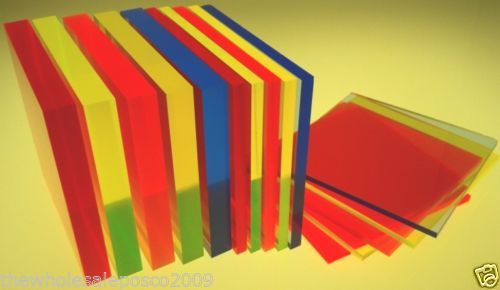 Details About Perspex Acrylic Cast Fluorescent Coloured Sheet Blue Orange Yellow Green Red Cast Acrylic Perspex Blue Orange