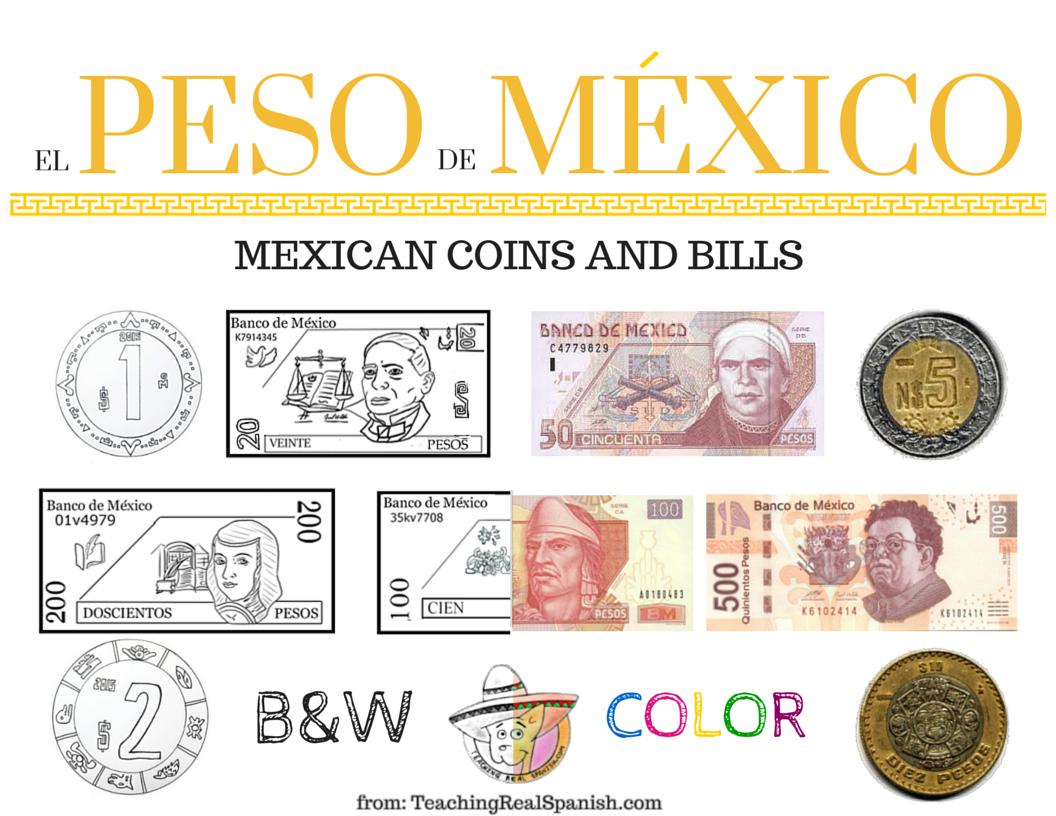 El Peso De Mexico Mexican Coins Amp Bills