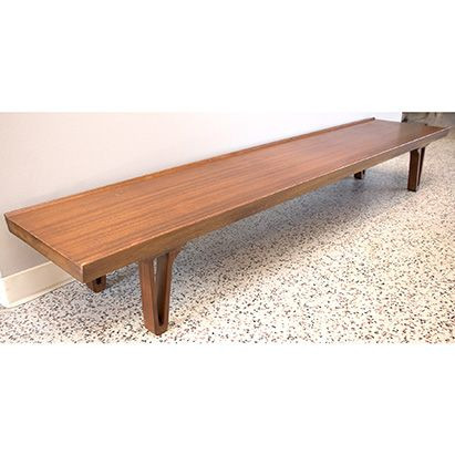 7 Ft Long Mid Century Coffee Table $395 grandviewmercantile