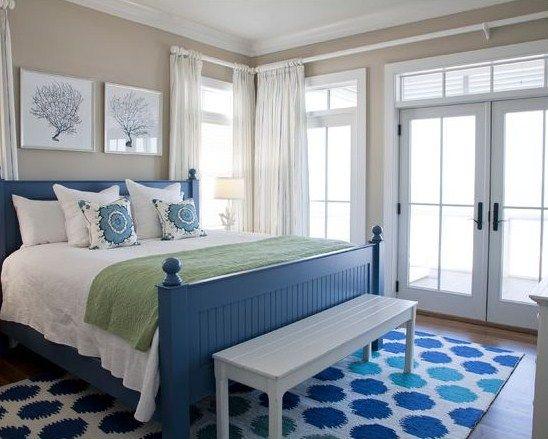Coastal Cottage Painted Bedroom Furniture