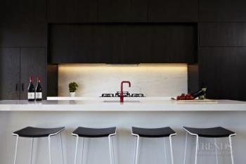 image result for oak black and white kitchen - Black And White Kitchen Nz