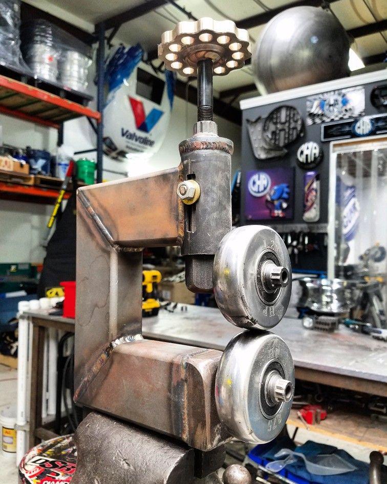 Cold Hard Art Mini English Wheel Metal Forming Sheetmetal Ideias Para Oficinas Ferramentas Automotivas Ferramentas Caseiras