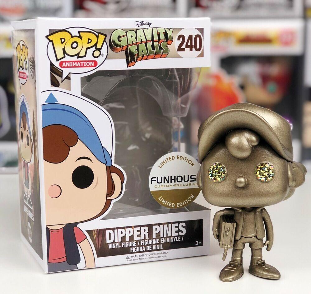 Regular Version Funko Gravity Falls POP Dipper Pines Vinyl Figure #240