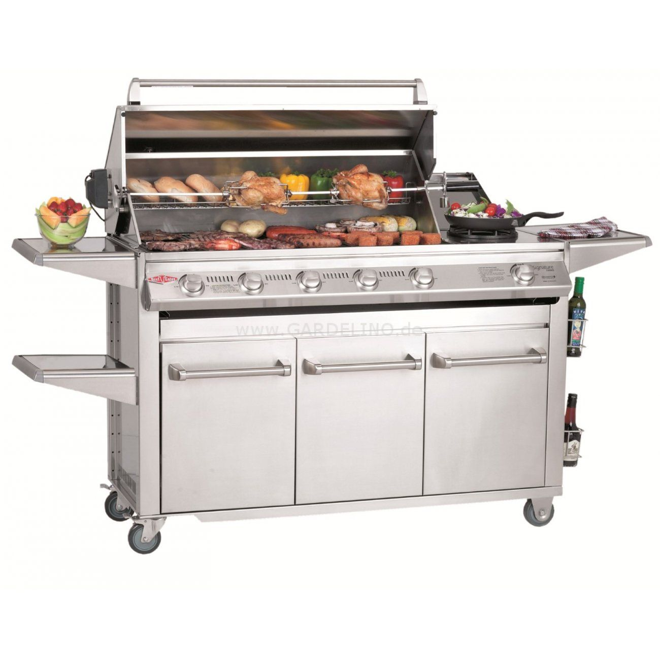 Gasgrill Küche Indoor Beefeater Bbq Gasgrill Trolley Signature Sl 4000 | Die Welt Des Grillens | Beefeater Bbq, Gas