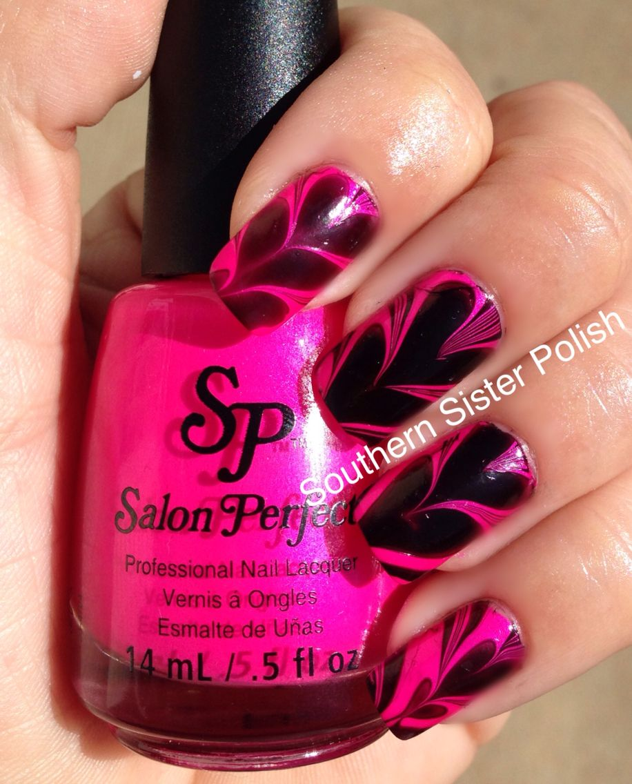 Heart Water Marble