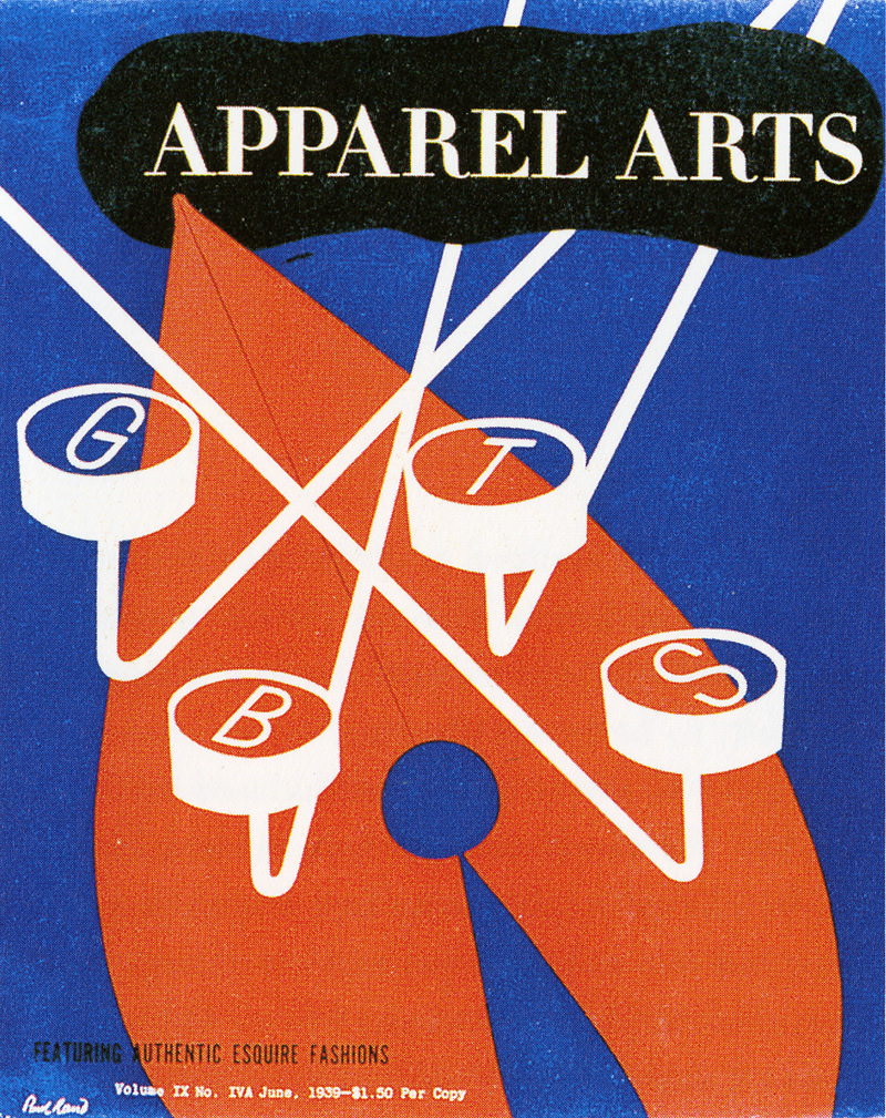 Image result for Apparel Art paul rand