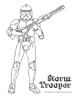 Storm Trooper Coloring Page Star Wars The Force Awakens Coloring - coloring pages of star wars the force awakens