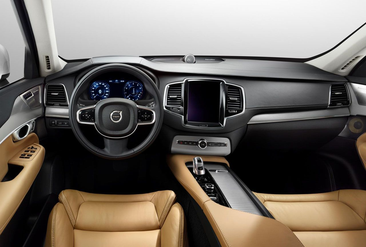 New volvo xc 90 with bowers wilkins stereo system