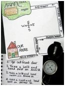 Build your first grader's social studies skills by making a map together.