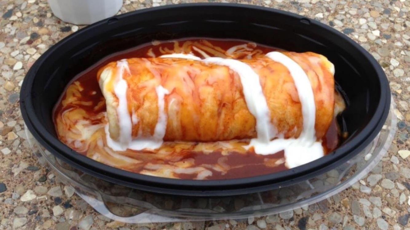 Imitation Taco Bell Smothered Burrito Shredded Chicken Recipe Recipe Smothered Burritos Smothered Beef Burritos Burritos Beef
