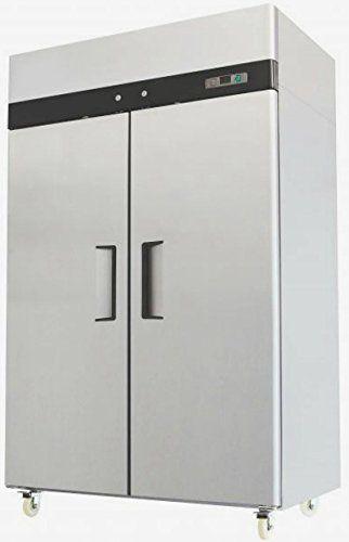 Atosa Mbf8002 Top Mount 2 Two Door Freezer Commercial Freezer Upright Freezer Solid Doors