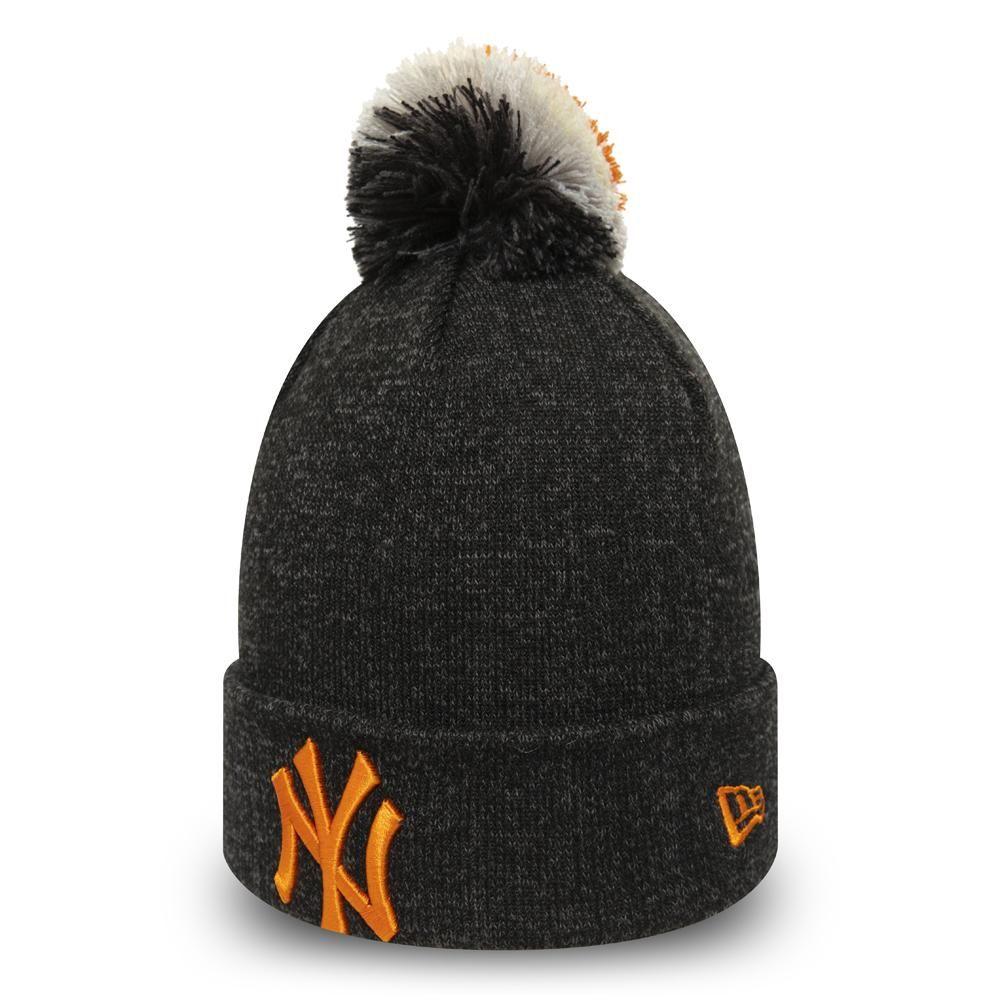 Ny Yankees Womens New Era Multi Bob Cuff Knit Bobble Hat Lovemycap Bobble Hats New Era Childrens Hats