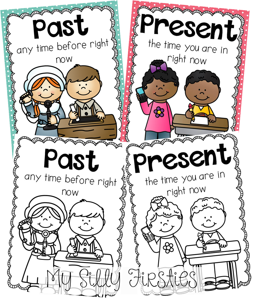 Past And Present Mini Unit Perfect For Teaching Your