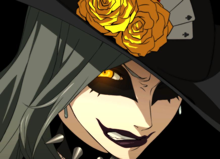 Shadow Sae Persona 5 Persona Shadow Art