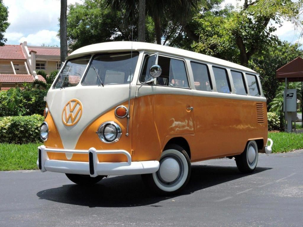 Bid For The Chance To Own A 1974 Volkswagen Type 2 Deluxe 15 Window Bus At Auction With Bring A Trailer The Home Of The Car Volkswagen Classic Cars Volkswagen
