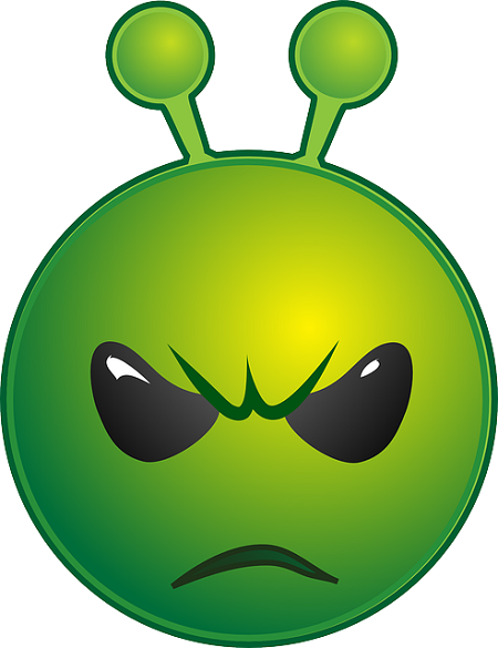 Alien emoticon mean alien emoticon mean