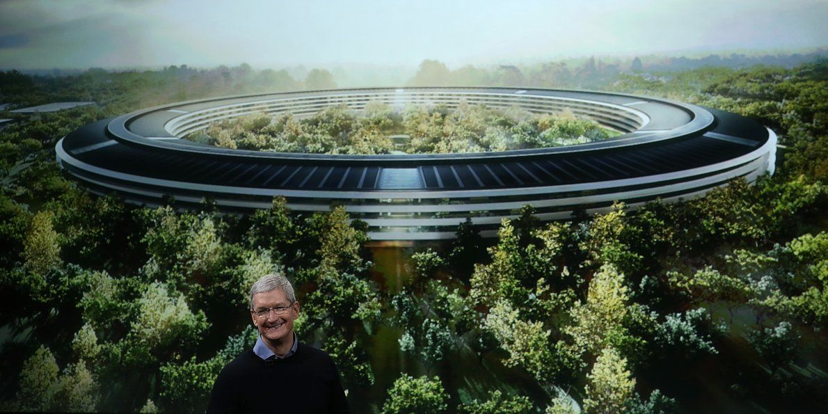 businessinsider: Apple's new $5 billion campus has more space for parking than offices https://t.co/lv8bkEVAln https://t.co/7FU8LYP0Uv #B