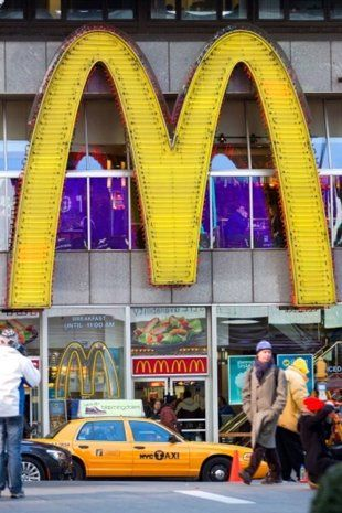 Guess many McDonald's customers aren't lovin' it. McDonald's finished last in a ranking of its ...