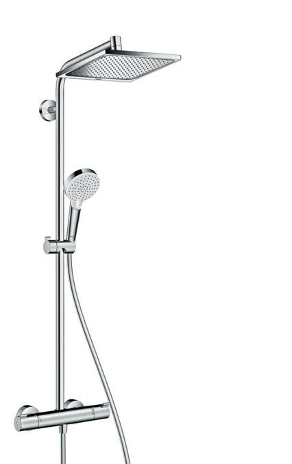 Crometta E 240 1jet Showerpipe Ecosmart 9 L Perc Csaptelep
