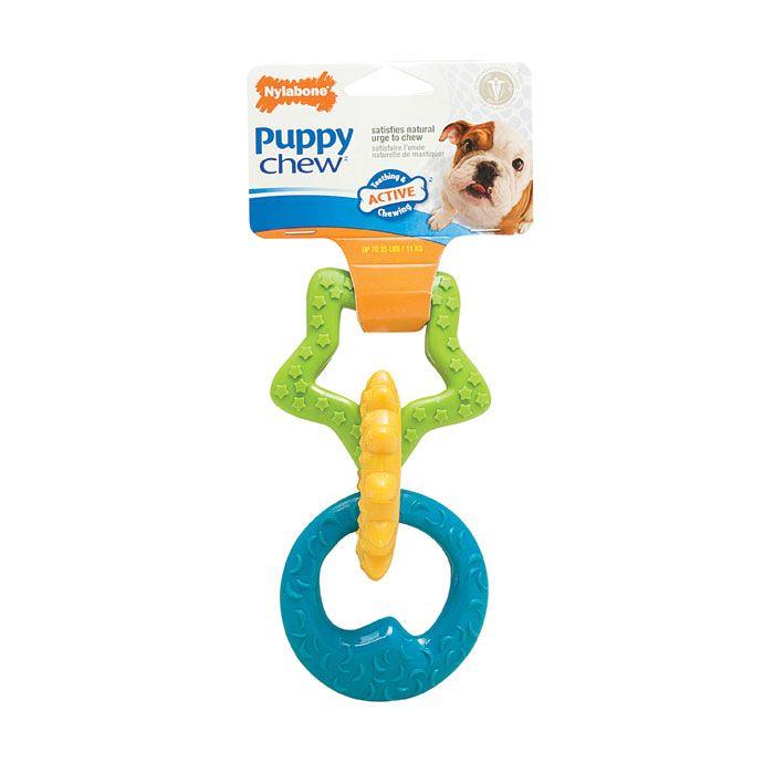 Nylabone Puppy Chew Teething Rings Puppy Teething Puppy