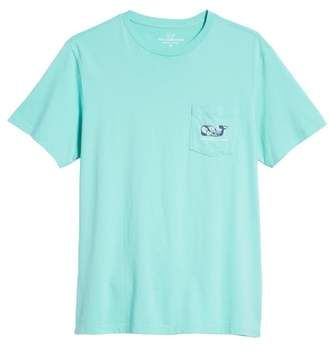 70197f30d Vineyard Vines Marlin Flowers Graphic Pocket T-Shirt | Products in ...