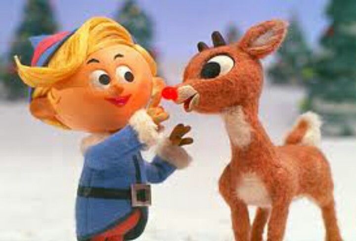 """Rudolph the Red-Nosed Reindeer is a fictional reindeer with a glowing red nose. He is popularly known as """"Santa's 9th Reindeer"""" and, when depicted, is the lead reindeer pulling Santa's sleigh on Christmas Eve."""