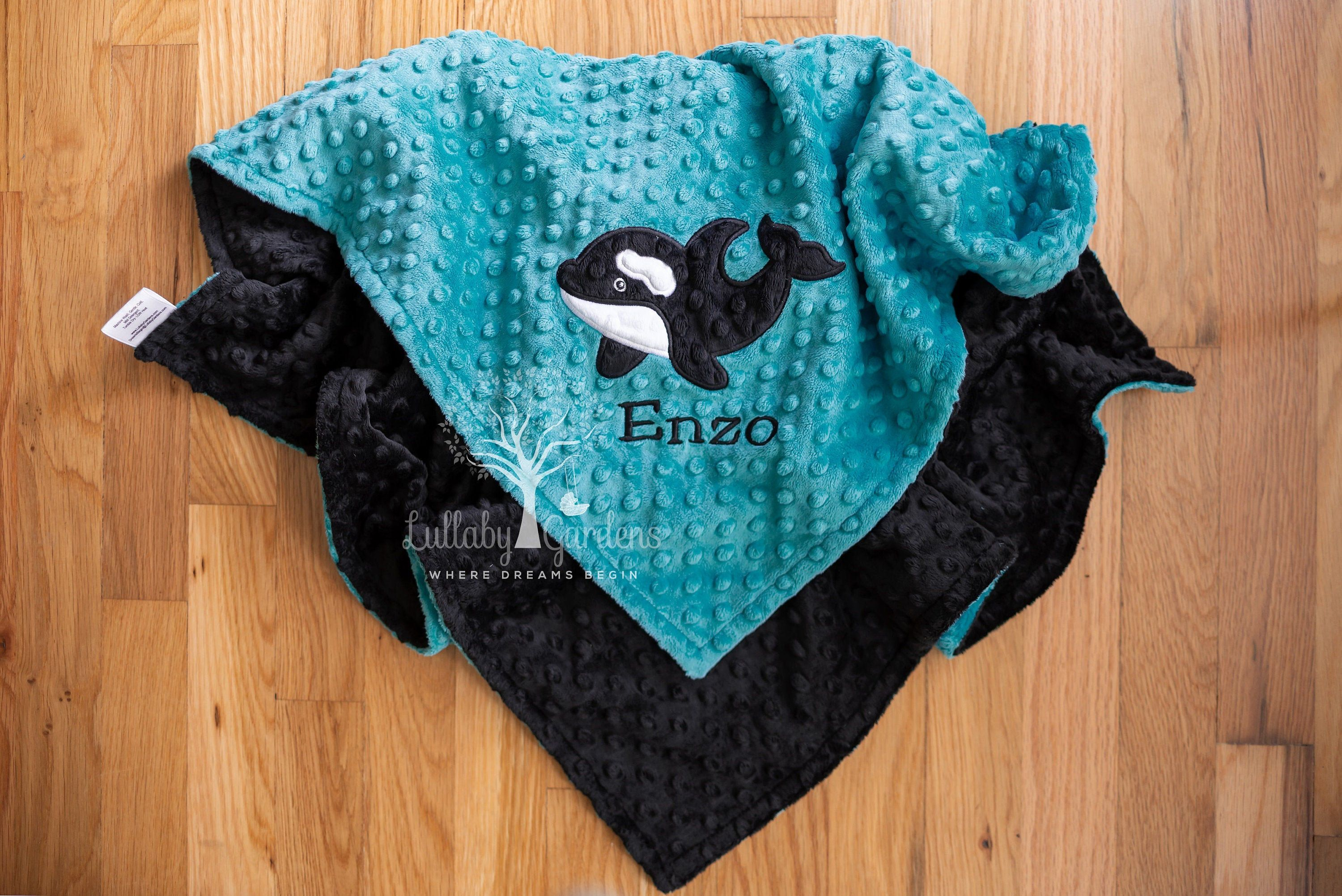 Personalized Baby Gifts Personalized Baby Boy Blanket Personalized Minky Baby Blanket Mallard Duck Minky Baby Blanket