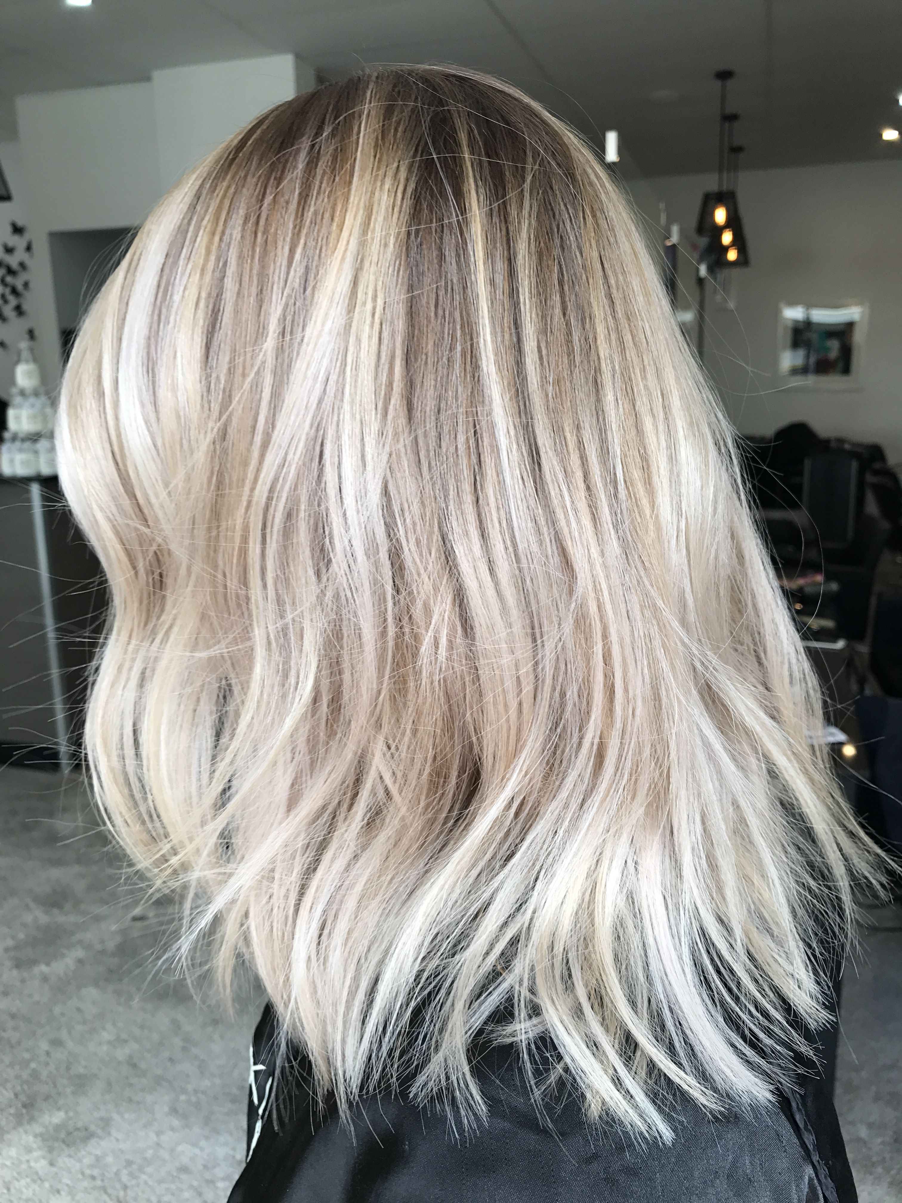 Photo of Blonde balayage, long hair, cool girl hair ✌️ Lived in hair colour Blonde br…