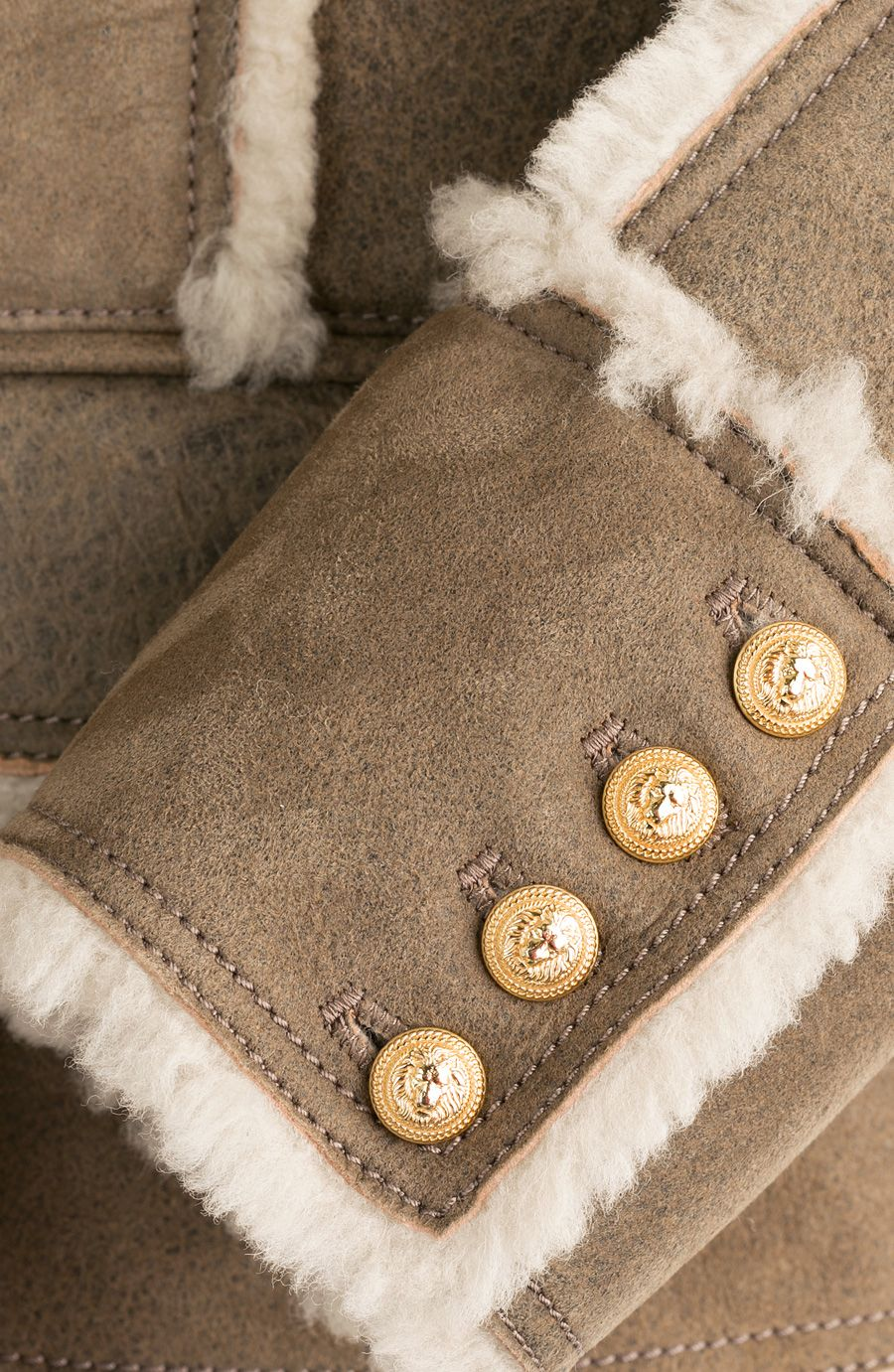Shearling Jacket detail 1