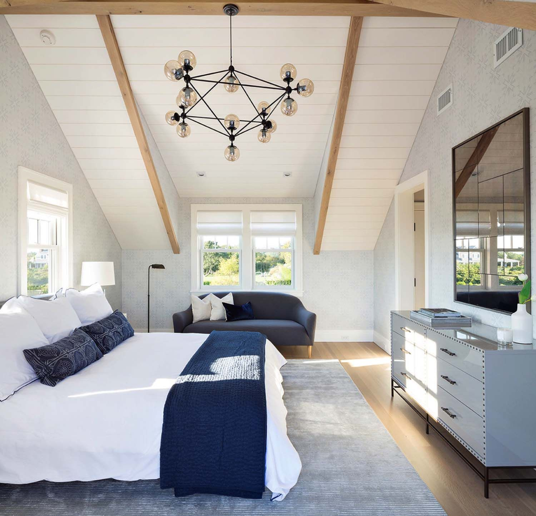 Nantucket Bedroom Design Ideas: Shingle-style Nantucket Beach Home Infused With Nautical