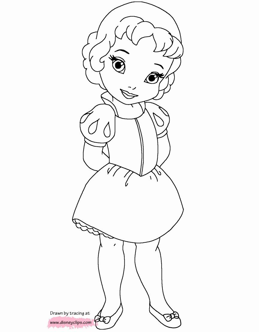 Baby Princess Coloring Pages : princess, coloring, pages, Disney, Princess, Coloring, Pages, Inspirational, Col…, Pages,, Drawings,