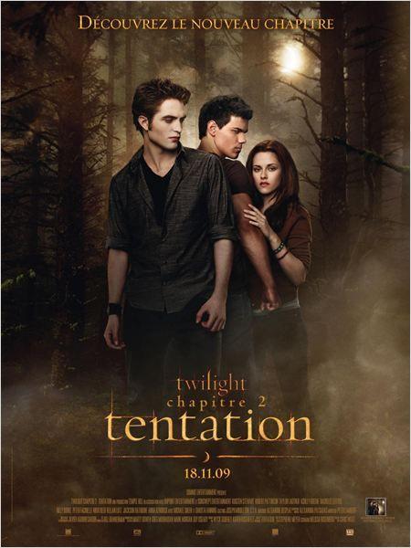 Twilight Chapitre 2 Tentation Affiche Film Twilight Twilight Saga New Moon Twilight