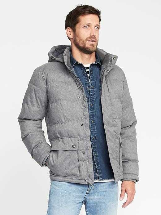 a7720fbede6d7 Old Navy Detachable-Hood Puffer Jacket for Men | Products | Jackets ...
