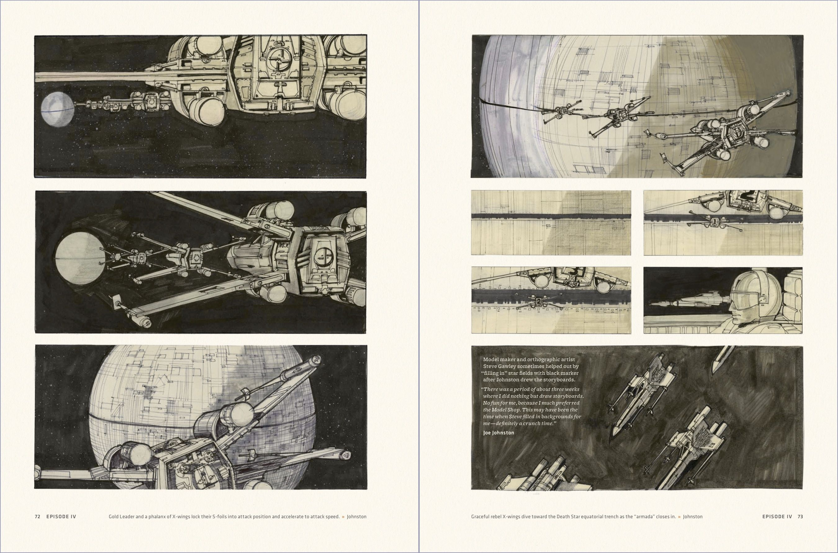 LucasfilmS Executive Editor Discusses Star Wars Storyboards
