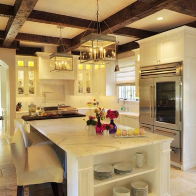 Rustic, Classic & Modern... Interesting mix. SEE HOW LIGHT COLORS on ...