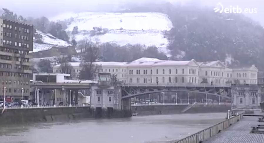 El tiempo en Bilbao cuando nieva