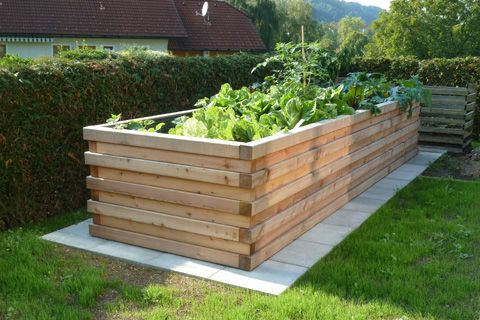 hochbeet gardening in 2018 pinterest garten hochbeet und bepflanzung. Black Bedroom Furniture Sets. Home Design Ideas
