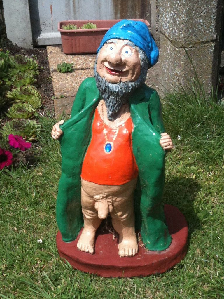 Naughty Garden Gnomes   Google Search