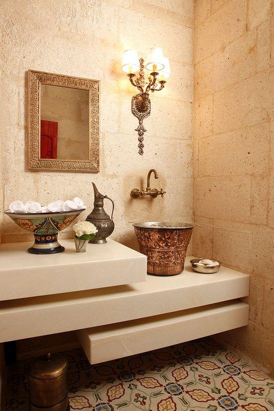 Je badkamer in echte hammam stijl | Wooninspiratie | refresh ...