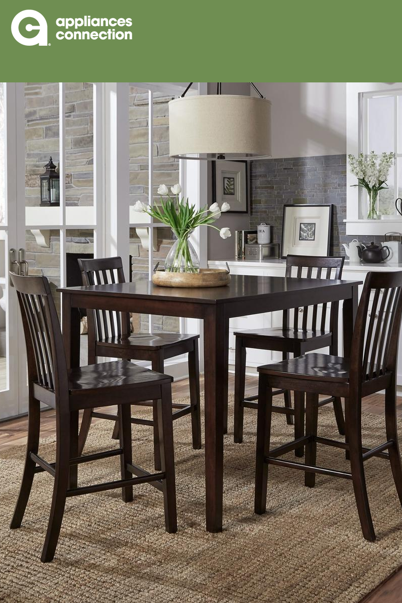 Standard Furniture Stanton Collection 18092 5 Piece Dining Room Set With Counter Height Table And 4 Counter Hei Dining Room Design Standard Furniture Furniture