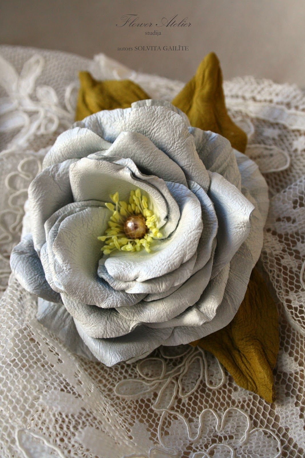 flower atelier | brotches | pinterest | atelier, flower and fabric