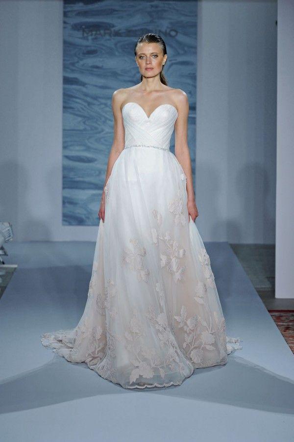 Mark Zunino Fall 2015 Wedding Dresses | Mark zunino, Bridal fashion ...