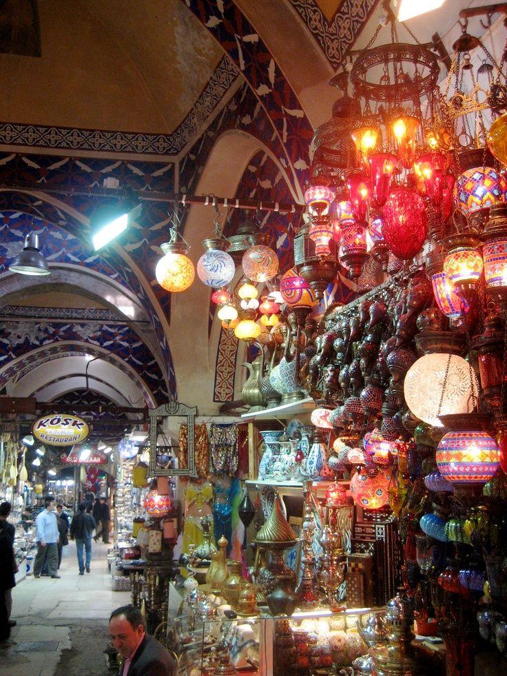 .Grand Bazar en Istambul, Turquia