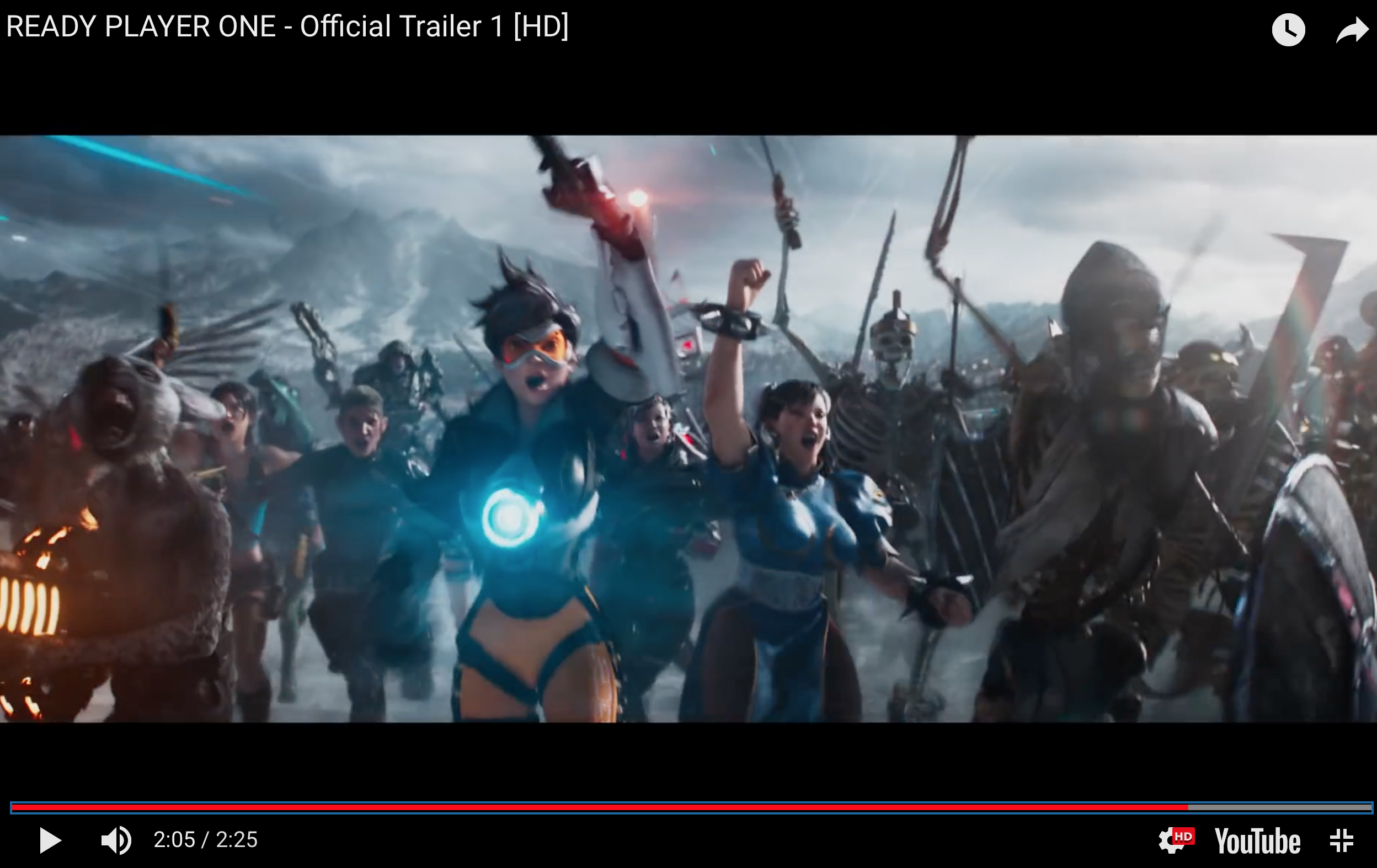 Anime Characters In Ready Player One : Tracer from overwatch in the new quot ready player one
