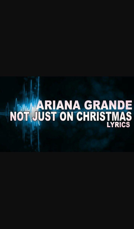 Pin by Charming Kitty Ariana on Ariana Grande christmas & chill ...