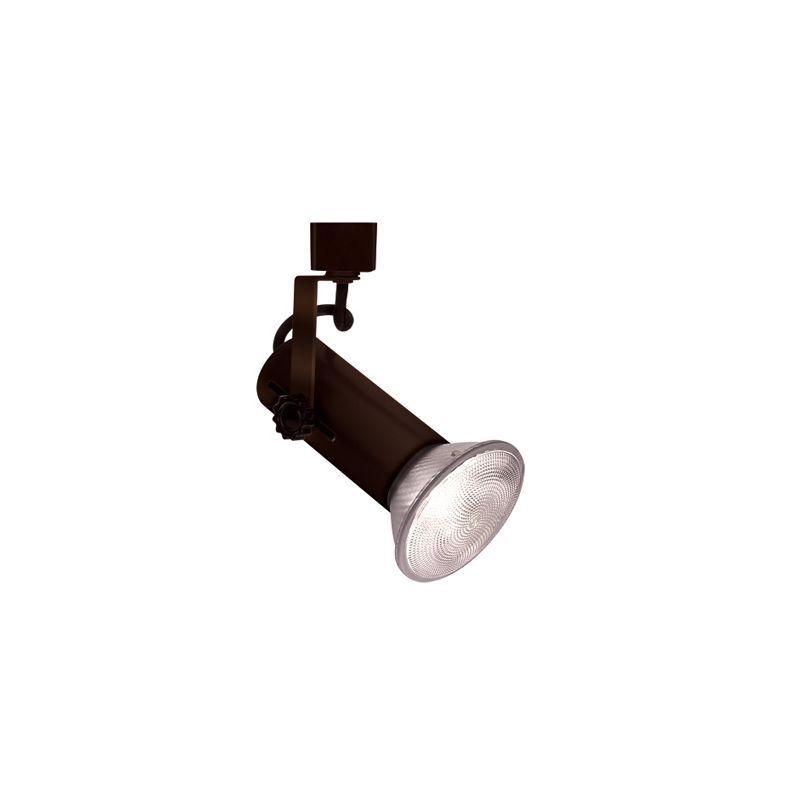 "WAC Lighting LTK-188 Line Voltage 4.75"" Wide 1 Light Track Head for L-Track Trac Black Indoor Lighting Track Lighting Heads"
