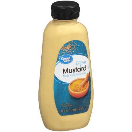 Great Value Dijon Mustard 12 Oz Walmart Com Grocery Dijon Mustard Food