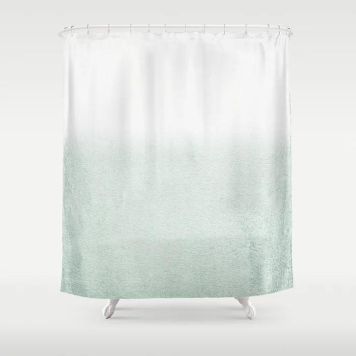 Fading Green Eucalyptus Shower Curtain By Monikastrigel Society6