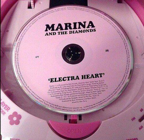 Marina Forever 3 Electra Heart Marina And The Diamonds Pink Aesthetic